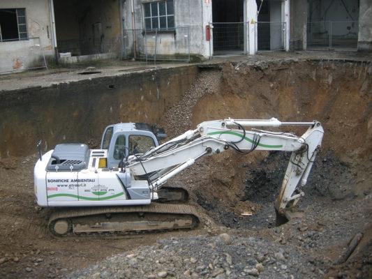 Scavi per bonifica terreni contaminati - Parabiago - Milano