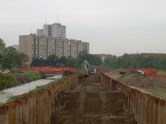 Scavi per bonifica terreni contaminati - Milano Nosedo