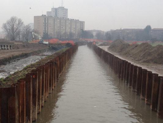 Area soggetta a bonifica su terreni contaminati - Milano Nosedo