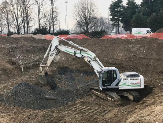 Intervento di bonifica terreni contaminati - Milano San Siro