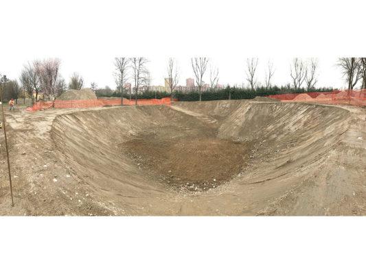 Scavo per bonifica terreni contaminati - Milano zona San Siro