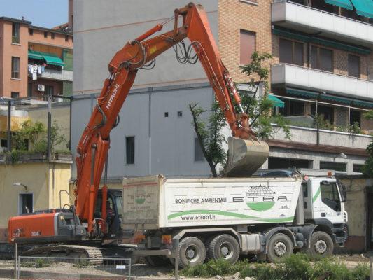 Bonifica terreni contaminati - Milano