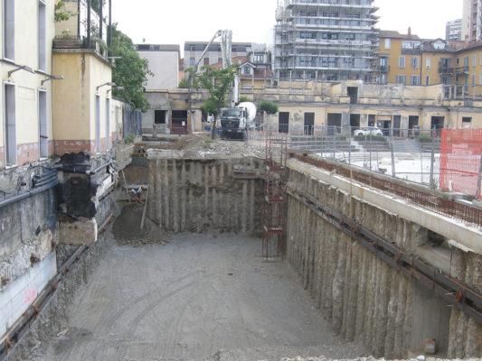 Bonifica terreni inquinati - Milano
