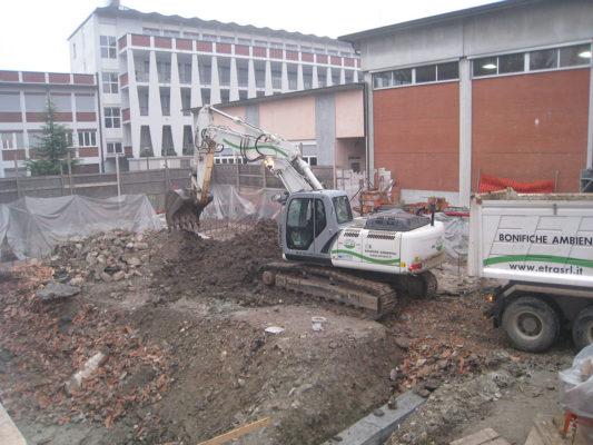 Bonifica terreni contaminati - Varese