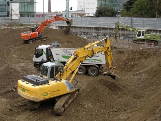 Bonifica ambientale terreni inquinati Milano zona Dergano