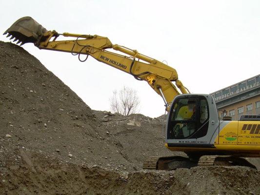 Bonifica terreni contaminati area ex Basf - Bruzzano - Milano