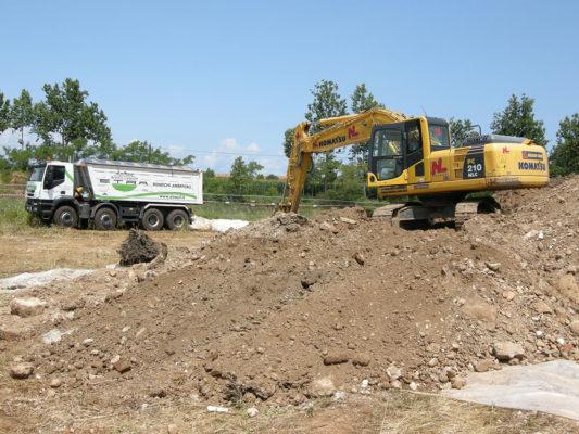 Bonifica terreni contaminati- Castiglione delle Stiviere - Mantova
