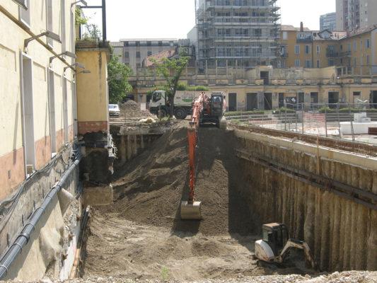 Scavi per bonifica terreni contaminati - Milano