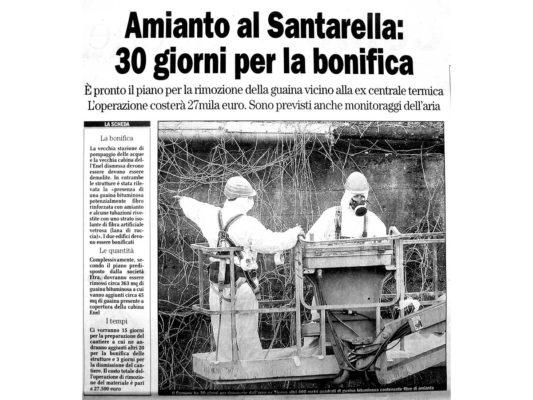 Bonifica e rimozione amianto compatto Centrale termica ex Santarella - Como
