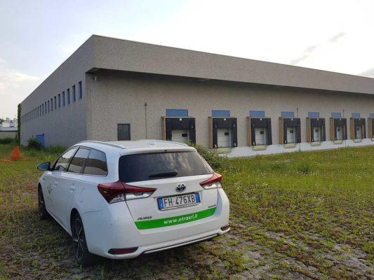 Intervento di mappatura amianto - coperture eternit - Caluso - Torino