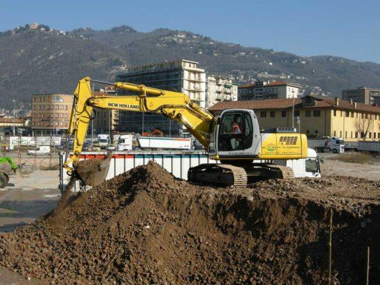 Rimozione e smaltimento di rifiuti contenti amianto ex stabilimento Ticosa - Como