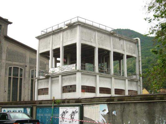 Bonifica amianto in matrice compatta presso centrale termica ex Santarella - Como
