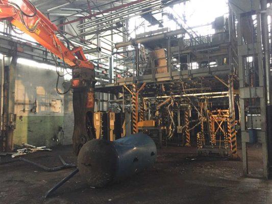 Intervento di bonifica e demolizione impianti produttivi di toner - stabilimento ex Baltea Leini - Torino