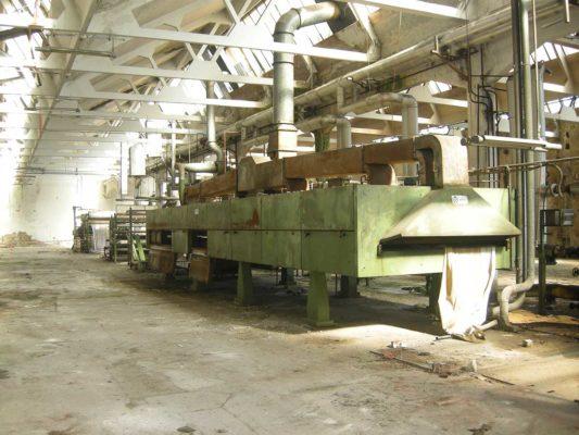 Bonifica amianto in matrice friabile essiccatore ex Tintotex - Parabiago - Milano