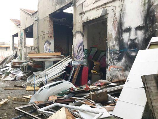 Rimozione e smaltimento di rifiuti vari ex Nimco - Cormano - Milano