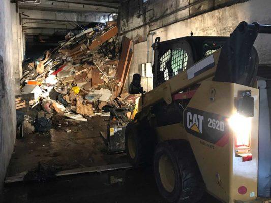 Rimozione e smaltimento di rifiuti vari - discarica abusiva in ex stabilimento Nimco - Cormano - Milano