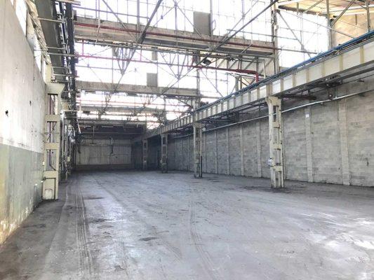 Bonifica e demolizione impianti produttivi di toner - stabilimento ex Baltea Leini - Torino