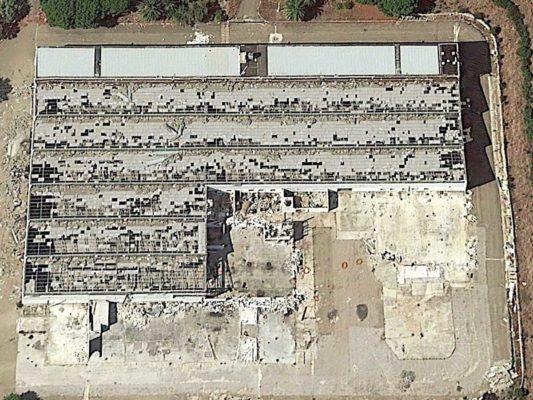 Fotografie aeree per valutazione ambientale su amianto e FAV (Fibre Artificiali Vetrose) a suolo - Foggia