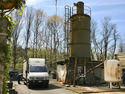 Verifica ambientale presso depuratore dismesso Mornago - Varese
