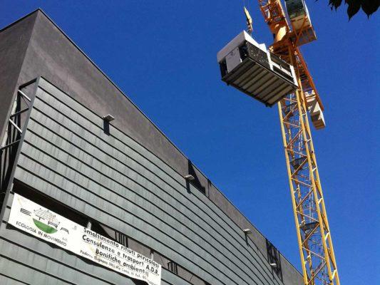 Bonifica ambientale FAV e intervento di demolizione cinema multisala ex Astoria - Como