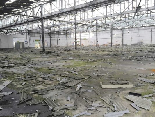Valutazione ambientale detriti amianto e FAV (Fibre Artificiali Vetrose) a suolo - Foggia
