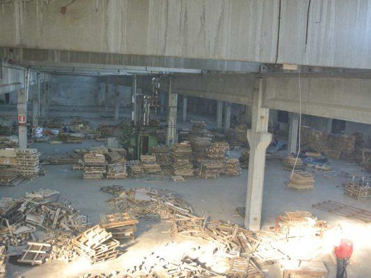 Intervento di rimozione e smaltimento di rifiuti industriali - bonifica ambientale ex Tintotex - Parabiago - Milano