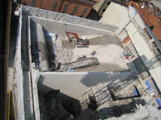 Bonifica FAV (Fibre Artificiali Vetrose) e demolizione cinema multisala ex Astoria - Como