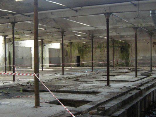 Rimozione e smaltimento di rifiuti industriali - intervento di bonifica ambientale ex stabilimento Tintotex - Parabiago - Milano