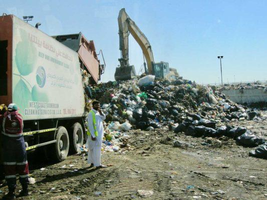 Valutazione ambientale presso discarica di rifiuti urbani e chimici EAU