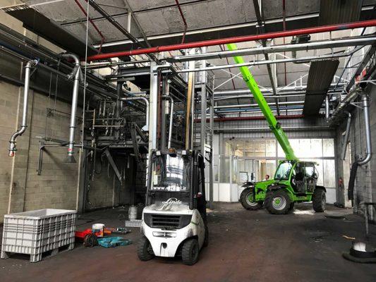 Bonifica ambientale e demolizione impianto confezionamento toner ex Baltea Leini - Torino