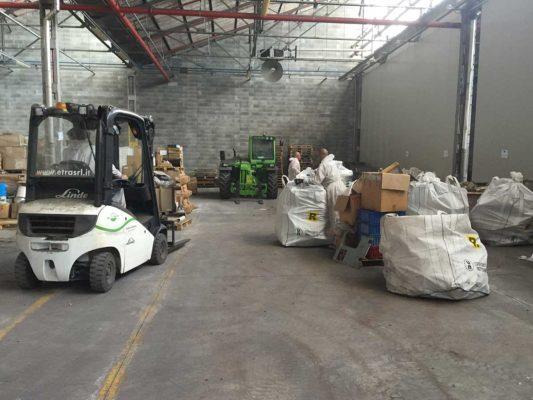 Rimozione e smaltimento di rifiuti industriali pericolosi - stabilimento ex Baltea Leini - Torino