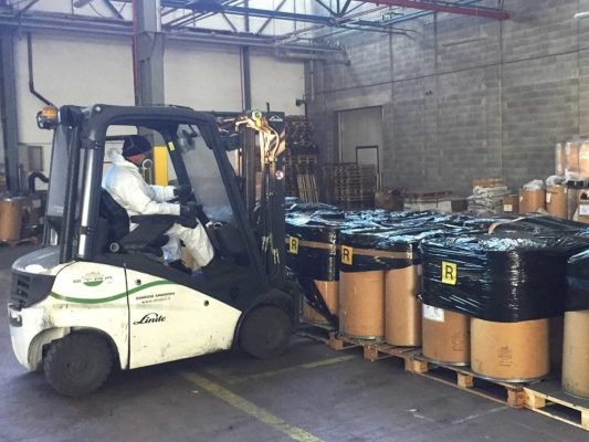 Movimentazione, rimozione e smaltimento fusti contenenti rifiuti pericolosi - ex Baltea Leini - Torino