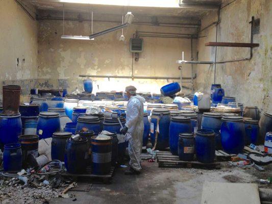 Valutazione ambientale presso discarica di rifiuti chimici - Parabiago - Milano