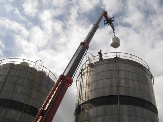 Bonifica e demolizione ex deposito di combustibili - Milano