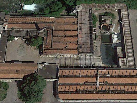 Bonifica amianto compatto stabilimento ex Tintotex - Parabiago - Milano