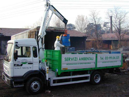 Servizio di rimozione e smaltimento di rifiuti industriali Marnate - Varese