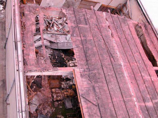Bonifica copertura - amianto compatto - Fizzonasco - Milano