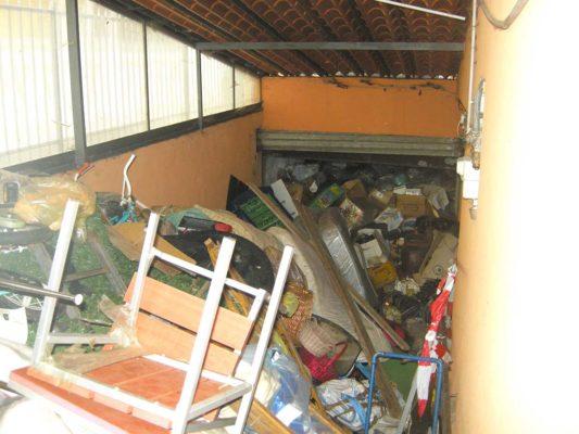 Rimozione e smaltimento di rifiuti vari da accumulo seriale - Beinasco - Torino