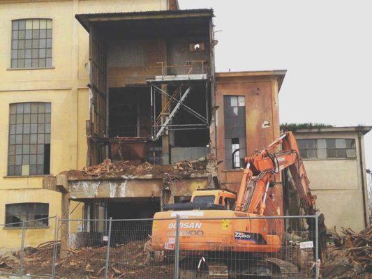 Bonifica e demolizione caldaia presso ex stabilimento Burgo Group - Carbonera - Treviso