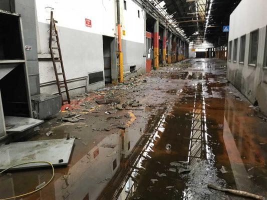Bonifica manufatti amianto compatto presso ex Simi - Cormano - Milano