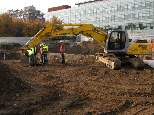 Collaudi per intervento di bonifica terreni presso ex BNL - Milano