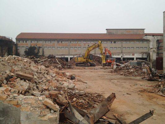 Bonifica e demolizione fabbricati ex stabilimento Burgo Group - Carbonera - Treviso