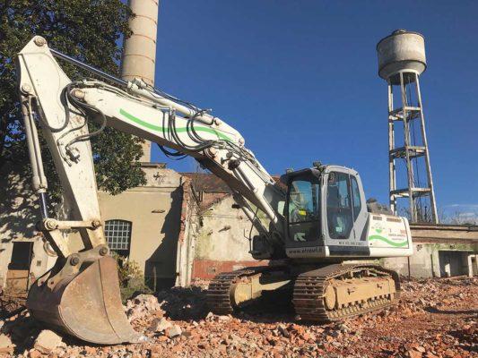 Bonifica ambientale e demolizione fabbricati area ex Tintotex - Parabiago - Milano