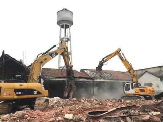 Bonifica ambientale e demolizione fabbricati ex stabilimento Tintotex - Parabiago - Milano