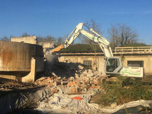Bonifica e demolizione fabbricati area ex Irca - Cesano Maderno - Milano