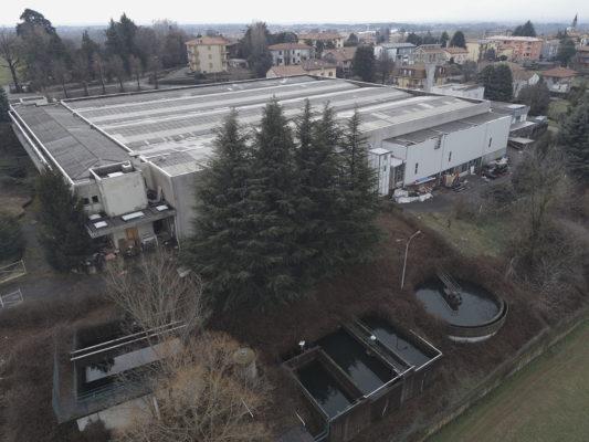 Videoispezione aerea con drone per indagine ambientale - Besana Brianza - Monza Brianza