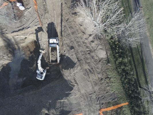 Fotografie aeree e videoriprese con drone : indagine visiva per attività di bonifica terreni contaminati a Milano